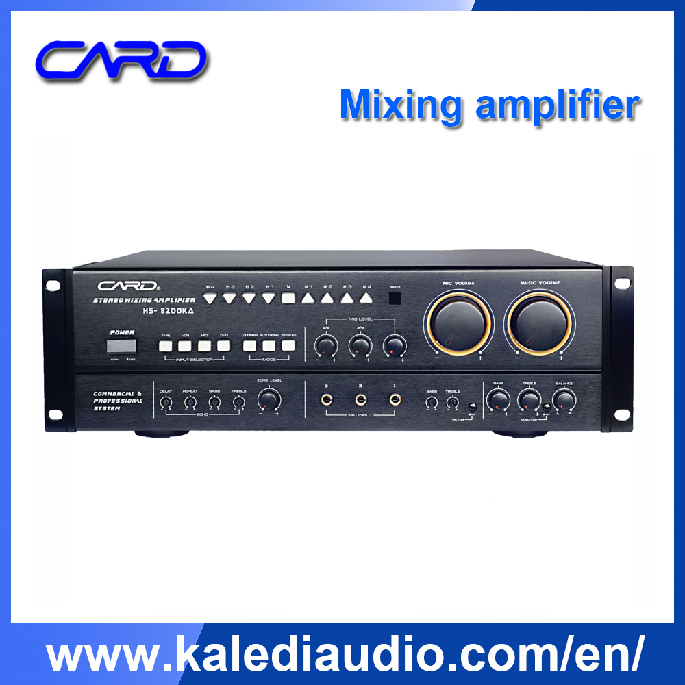Background Music Panel Remote Control Audio Power Amplifiers