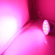 12w E27 par38 led grow light bulb 3:1:1 with track light system for family indoor plant light