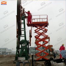 Hot sale electric hydraulic12m manlift