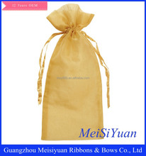 Customized personal drawstring organza bags for gifts /drawstring wedding favor organza bags
