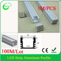 Anodized Aluminum LED Profile For LED Strip/led profile