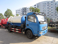 Dongfeng 6000 liter sewage vacuum truck