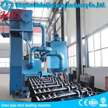 Steel Pipe Descaling Shot Blasting Machinery