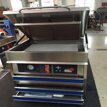polymer plate making machine for making soft printing plates