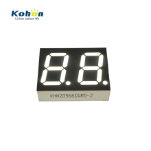 Green Color 2 Digit 7 Segment LED Display Nixie Display