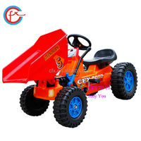 pedal car toy for child fun mini playing loader 312