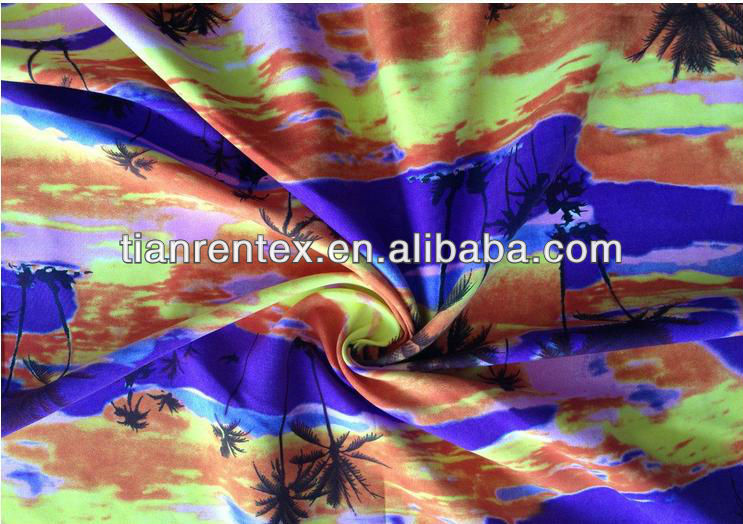 100%Polyester Jacquard Peach Skin and Shirt Fabric