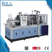 RUIDA Popular Design Automatic Cold Drink Paper Cup Machine For Making Disposable Paper Glass