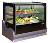 CHILLER - TABLE-TOP CHILLER DISPLAY SHOWCASE (CURVED GLASS) (SQUARED)