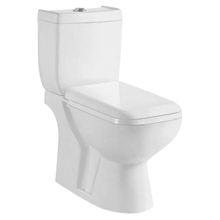 Nice Quality Gravity Flushing P-Trap Bathroom Sets Toilet