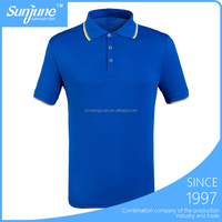 OEM rib collar ladies pique new design polo shirt