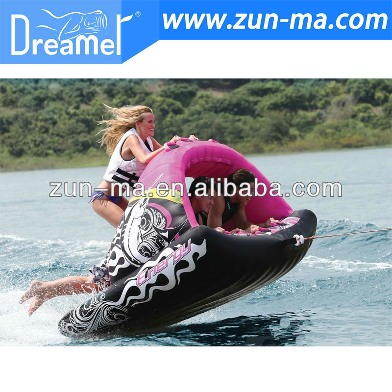 towable Inflatable water ski tube carft