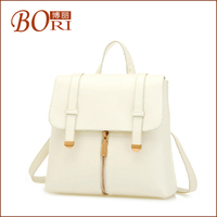 2014 fashion backpack recycle woven plastic beach leather bags in turkey