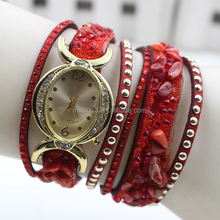2015 new style watch 7 colors trendy vogue watch Fashion long strap bracelet fashion lady watch