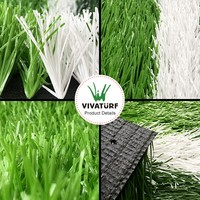 Vivaturf 50mm Sport Soccer Turf Artificial grass for Football Field