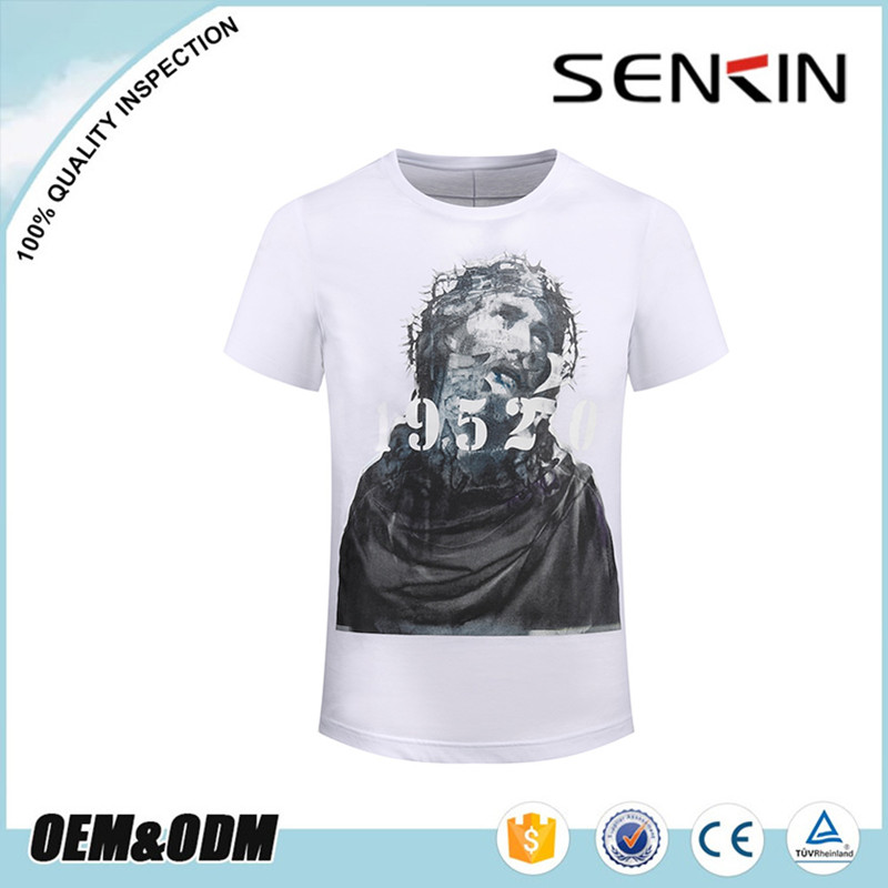 OEM china supply 3d digital printing pullover short sleeve wholesale custom indian t shirt manufacturers