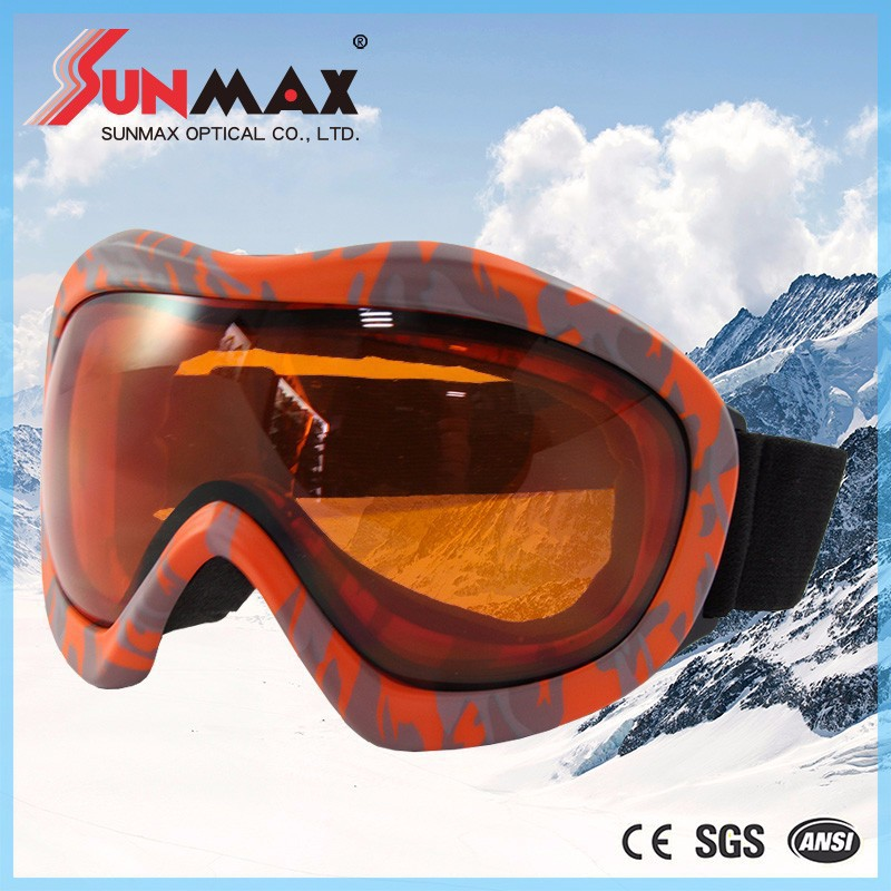 Taiwan Factory CE FDA standard popular ski goggles designer snowboarding goggles goggles for adults with high quality