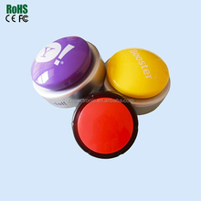 Custom Logo Recordable Push Sound Button Module With ABS Box