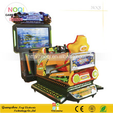 NQR-C16 coin operated 55''LCD 4D Full Motion racing car game machine all dynamic simulator racing for sale