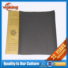 C-wt, D-wt electro coated waterproof abrasive paper