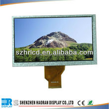 7 inch tft 800x480 LCD panel with capacitive touch screen TFT LCD module display