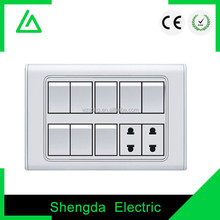 electric wall switch and socket 220v