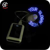 Products You Can Import From China Portable Fan Self Pre-programmed Led Message Fan