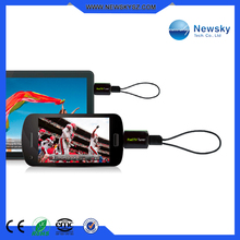 ISDB-T and DVB-T usb tv tuner for android