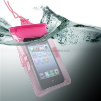 Best selling dirt and sand proof PVC waterproof cell phone bag