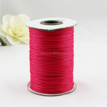 LW-23 DIY FASHION Multicolored Waxed Polyester Thread Cotton Wax Cord for jewelry finding