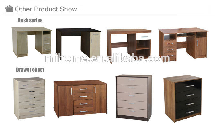 Simple design cheap modern cabinet TV cabinet with 2 showcase TV