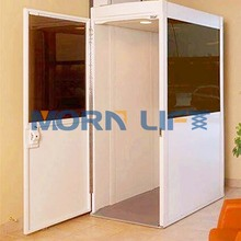 Morn Brand 4m height hydaurlic vertical small home elevator
