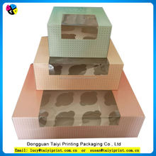 Welcomed to customized cupcake boxes transparent cake box