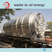 WJ-8 waste tyre pyrolysis machine with 8-10t capacity