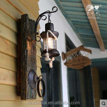 Bar Aisle Outdoor Waterproof Door Industrial iron Wall Light