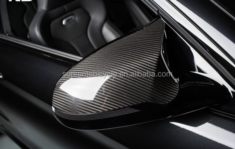 Real Carbon Door Mirror Wing Cover For BMW Car Model