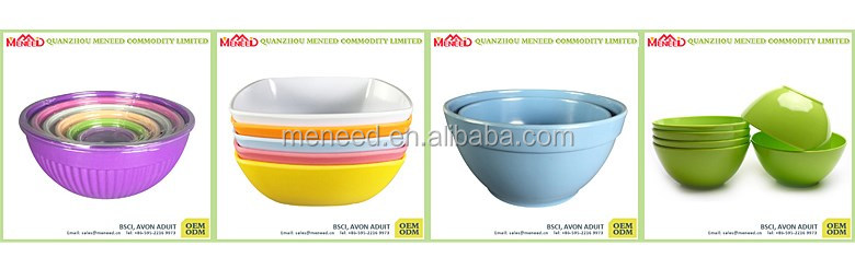 home & garden tableware plastic soup bowl from china