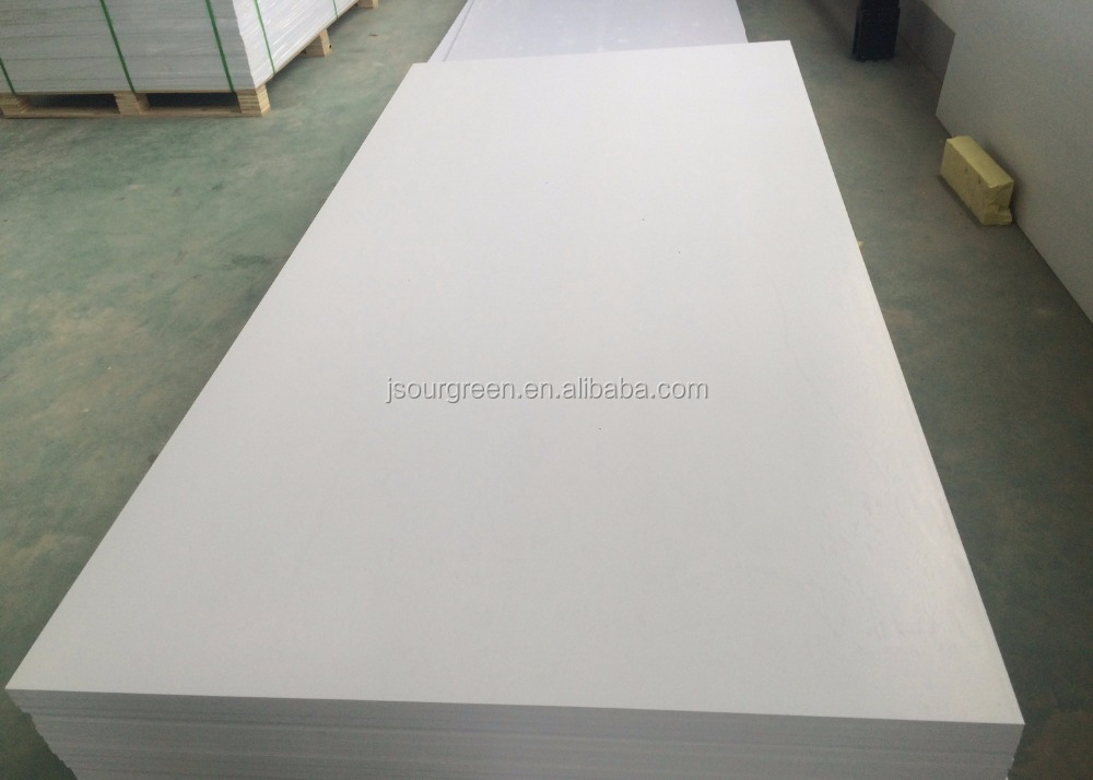 2-30mm Thickness Pure White PVC Foam Sheet for Construction