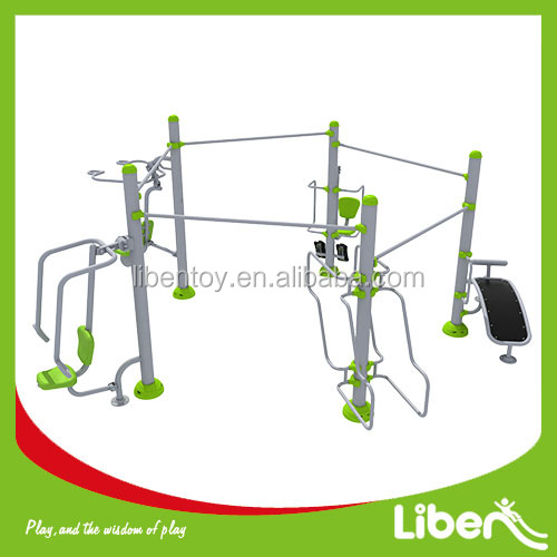 outdoor multifunction playground fitness equipment for kids