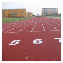Factory direct sale outdoor sport polyurethane running rubber flooring for running track