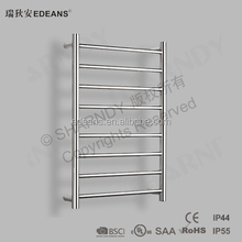 Edeans selling well Chrome Stainless Steel Polished Bathroom Electric Heated Towel Rails,Electric Towel Dryer