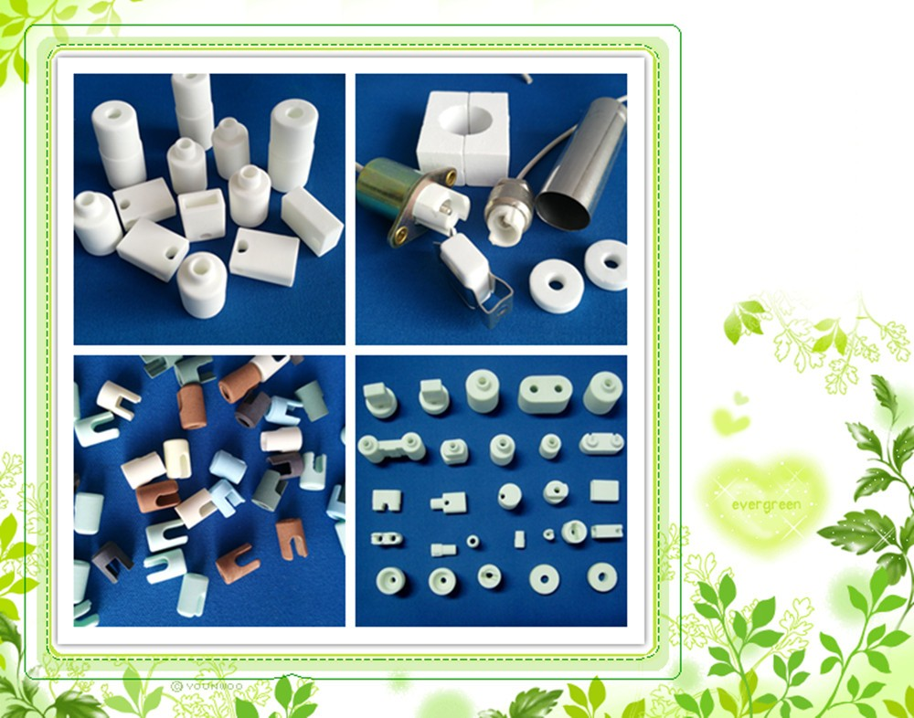Bottom price OEM zirconia ceramic insulators for heaters