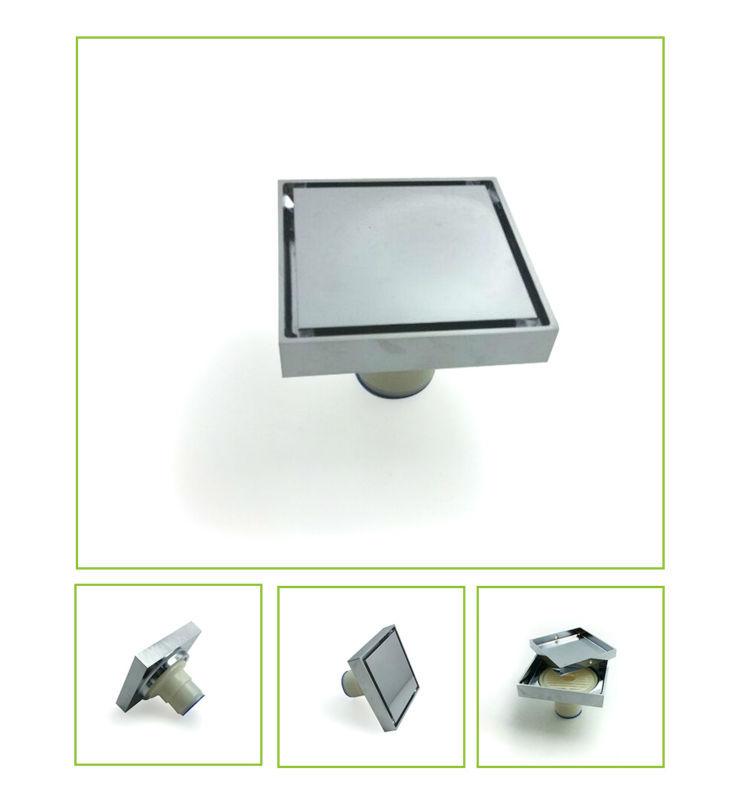 Bathroom Floor Drain Types : Garage shower rectangular the tile insert types of floor