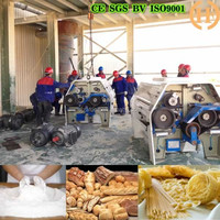 complete automatic flour mill compound 200t wheat flour mill