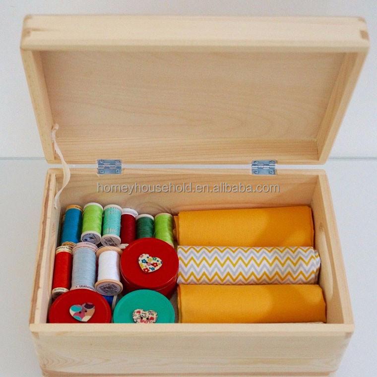 Long Term Use Fashion Style Teak Wood Kids Clothes Stock Box Storage Boxes