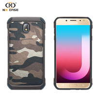 Latest camouflage thin slim hard case protective cover for samsung j7 pro moble phone smart shell