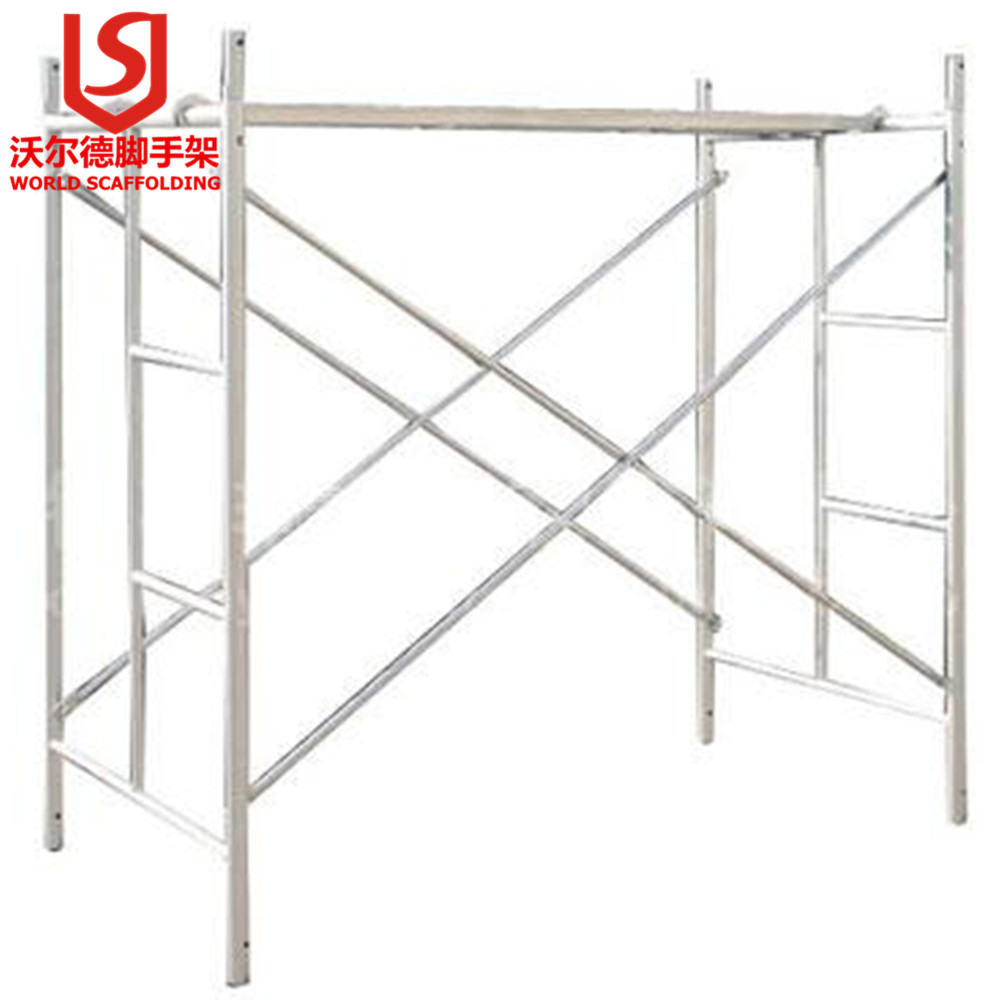 Q235/Q345 International Standard BS1139 Galvanized Frame Scaffolding system cross brace, joint pin, cross brace