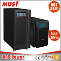 MUST uninterrupted power supply 3kva online ups for Personal Use