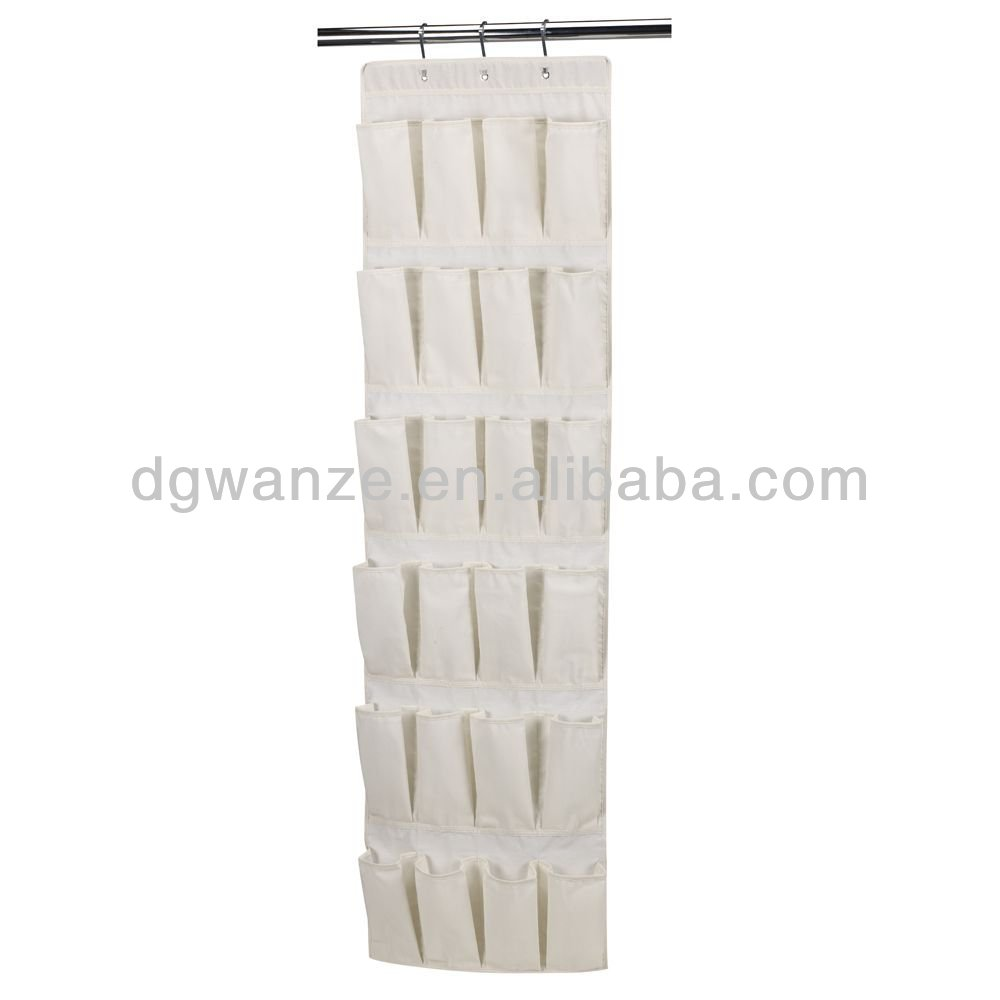 Hot sales non woven hanging shoe organizer