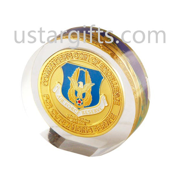 China wholesale, Acrylic round, Royal challenge coins